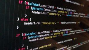 プログラミングのコード